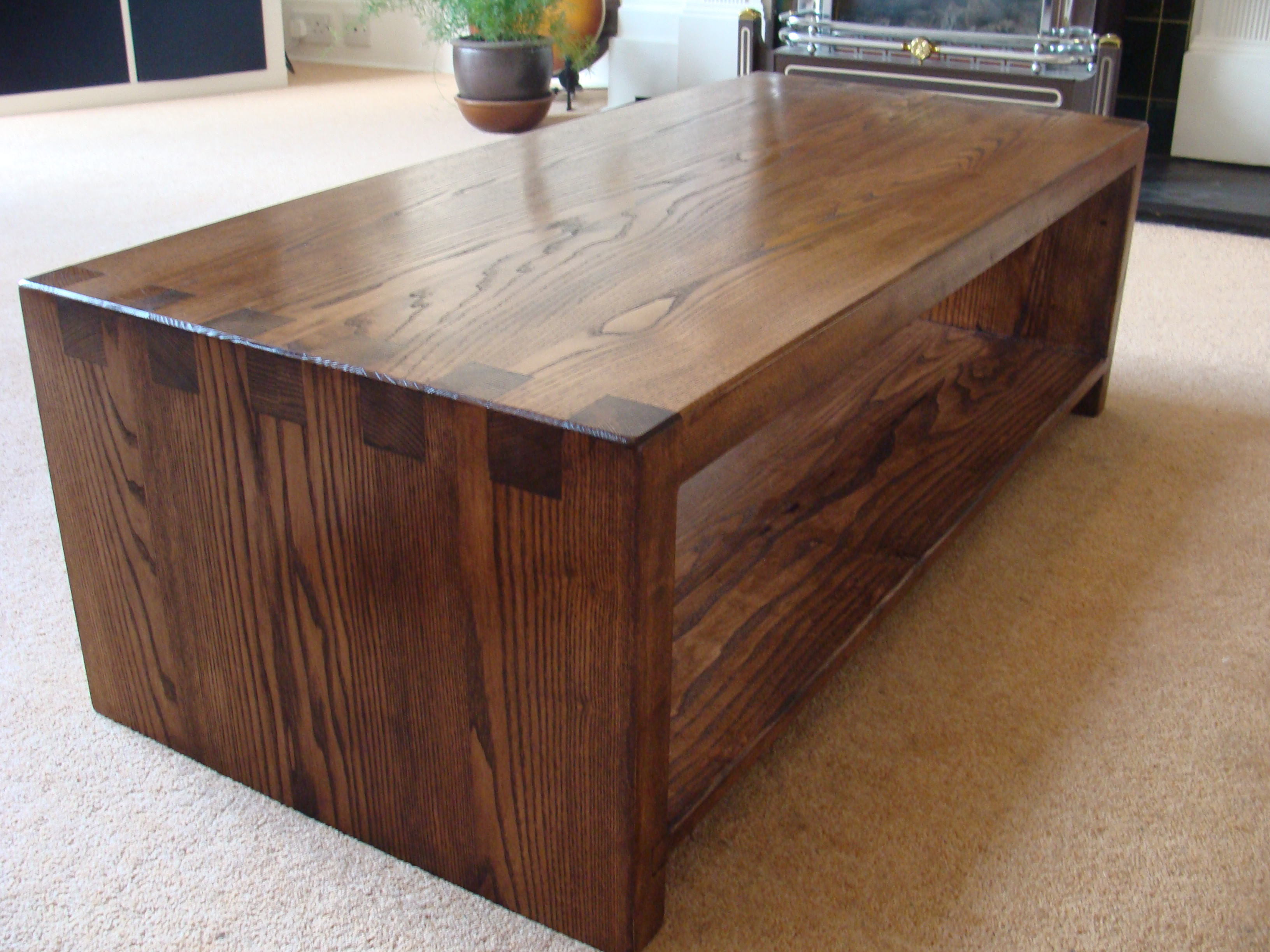 Stained Ash Coffee Table