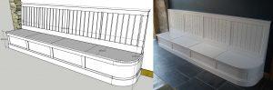 banquet seat design